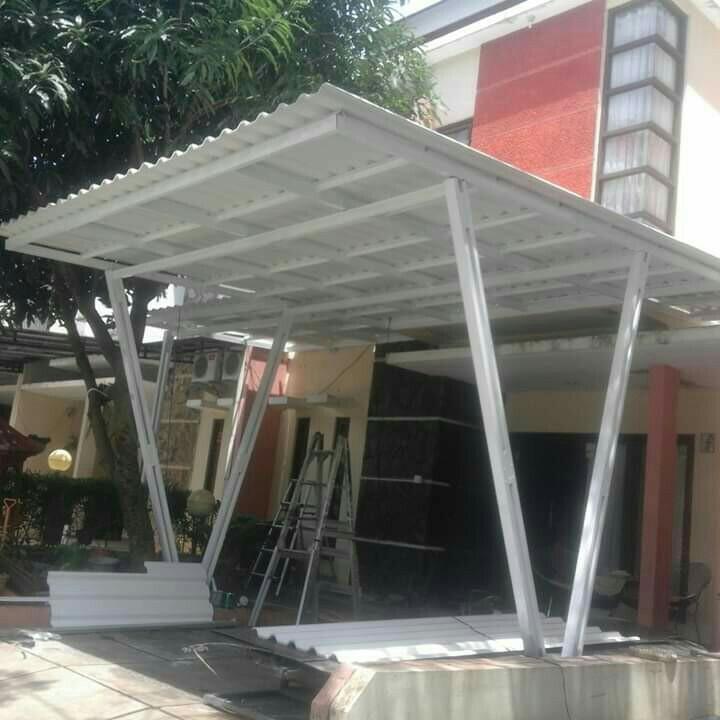 canopy baja ringan di jakarta kanopi atap alderon 085210163617 home furniture on