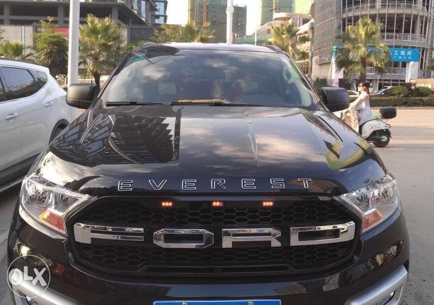 ford everest chrome black