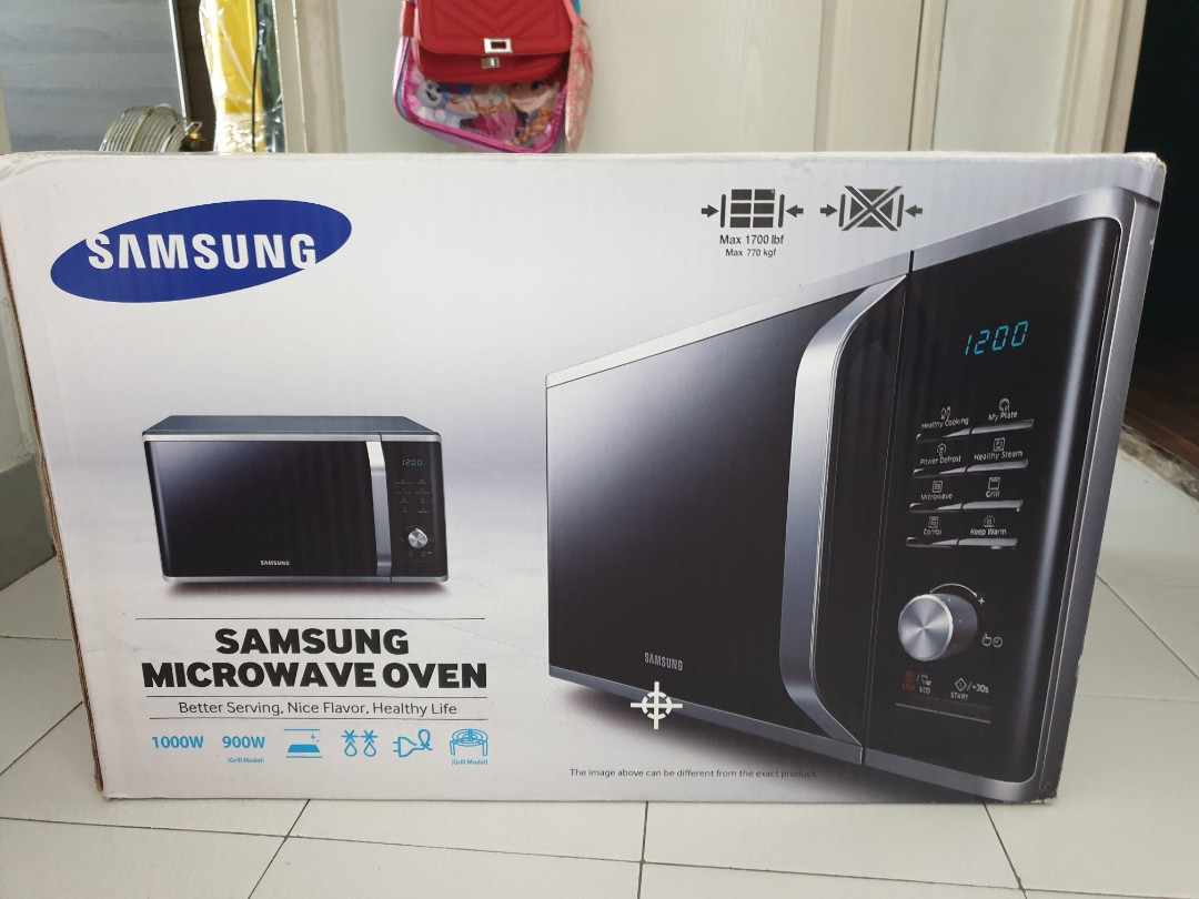 brand new 28 litre samsung microwave oven