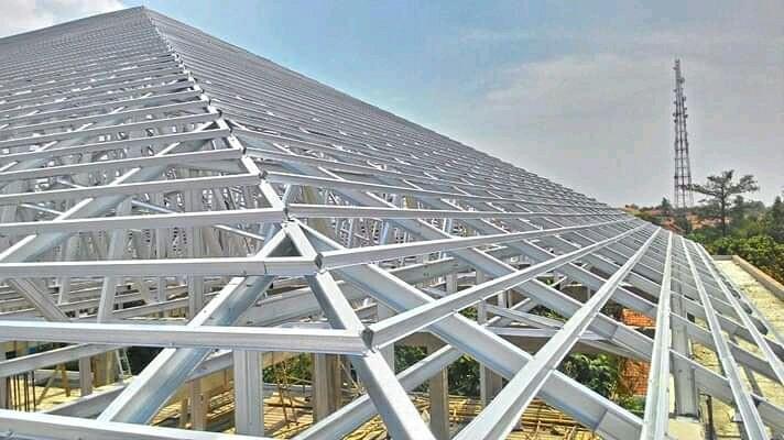pasang plafon baja ringan jual pemasangan atap dan pvc services home