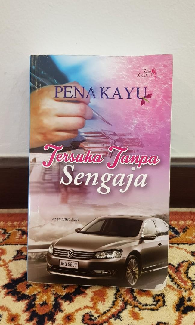 Tersuka Tanpa Sengaja : tersuka, tanpa, sengaja, Malay, Novel, Tersuka, Tanpa, Sengaja,, Books, Stationery,, Fiction, Carousell