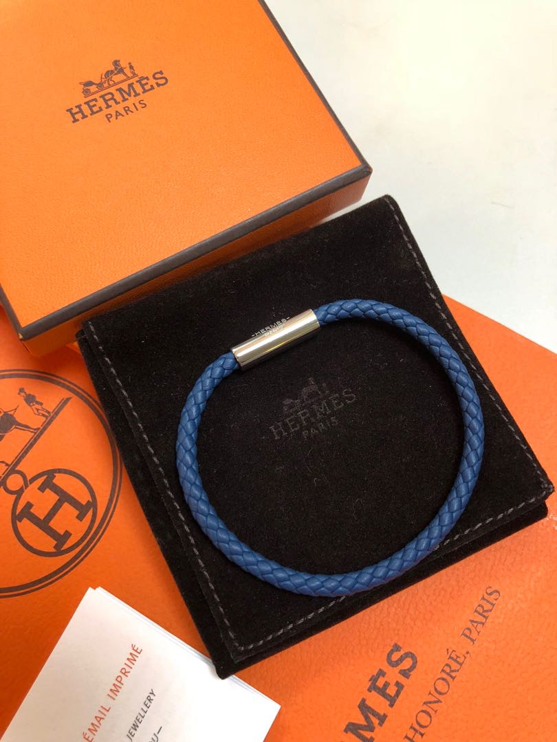 Hermes Goliath Bracelet 編織手環/皮手繩/手帶Braided bracelet / leather hand strap / hand strap. 名牌. 首飾 - Carousell