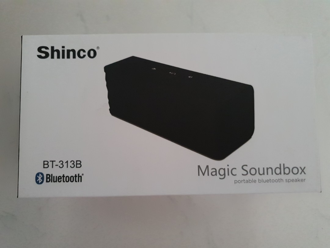 Shinco Magic Soundbox Portable Bluetooth Speaker Electronics Others On Carousell