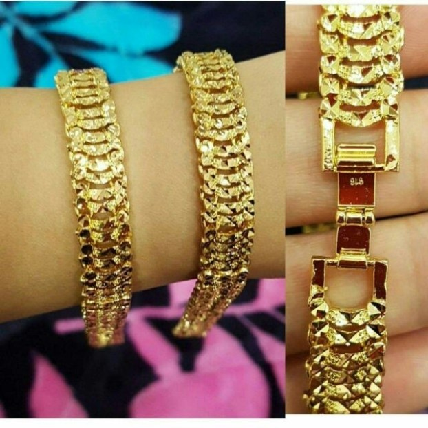 GOLD 916 Cop, Women's Fashion, Jewellery on Carousell