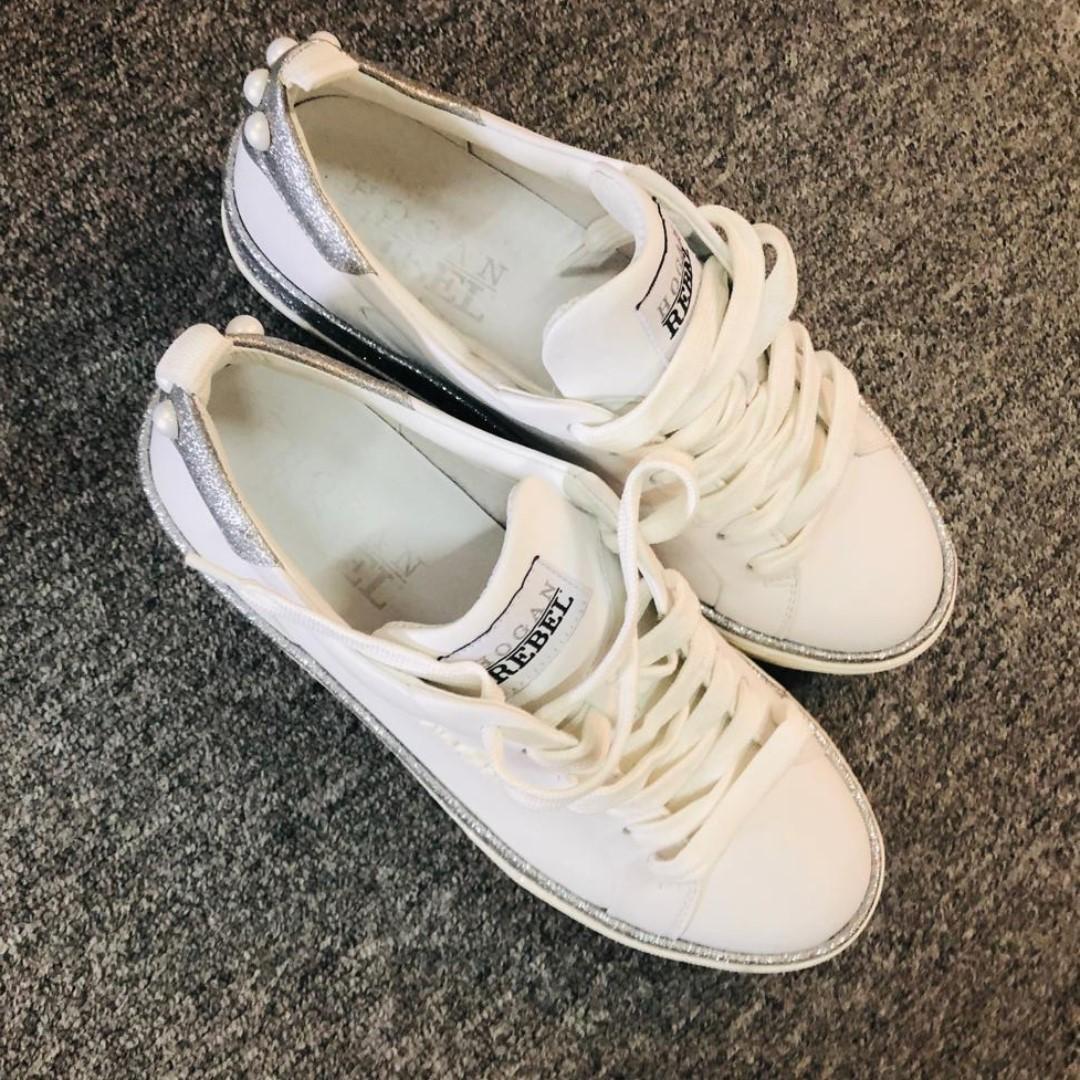 全新正品HOGAN 38號女裝鞋, 女裝, 女裝鞋 - Carousell
