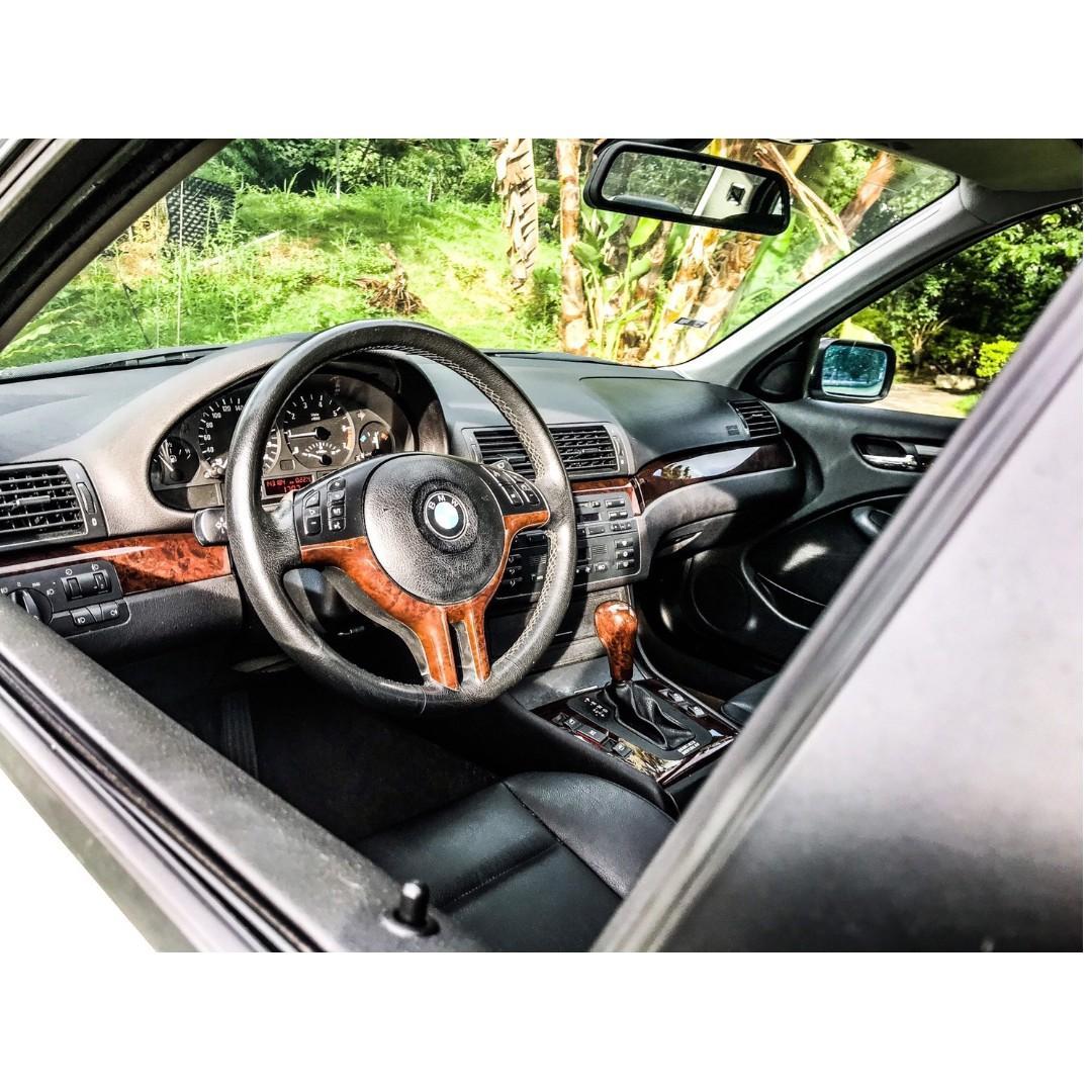 2002年BMW E46 318i 車在桃園, 汽車, 汽車出售在旋轉拍賣