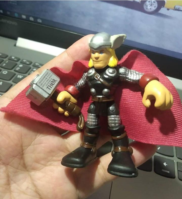 Action Figure Thor Toys Collectibles Mainan Di Carousell