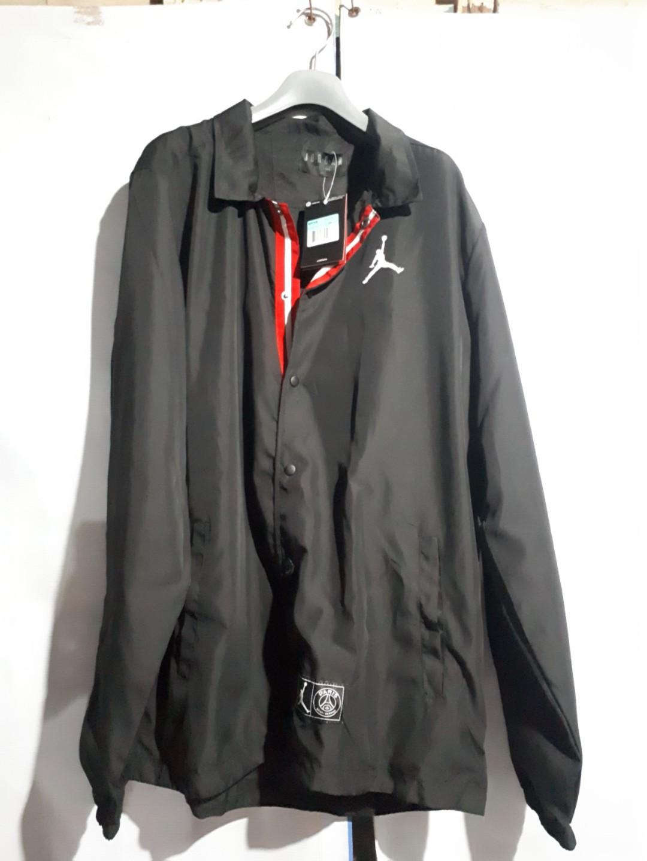 authentic nike jordan x psg coaches jacket 2019 2020