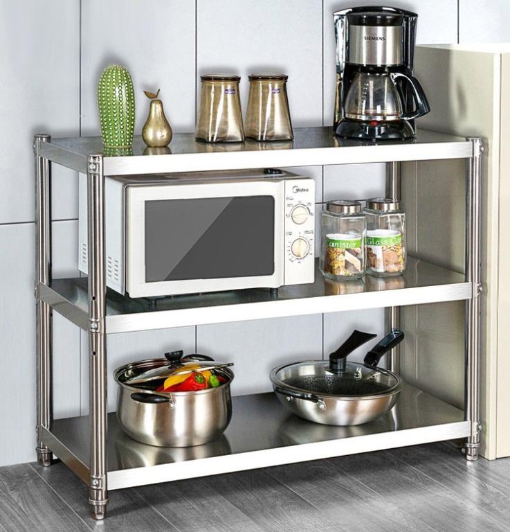stainless steel rack kitchen shelf sink basin ss table