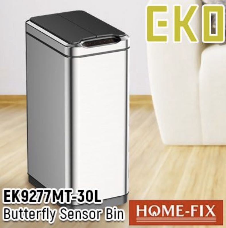 EKO 9277 30L 感應垃圾桶, 傢俬&家居, 其他 - Carousell