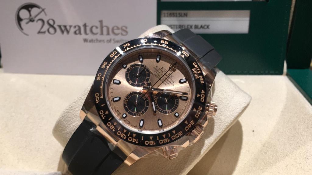 【銅鑼灣店】二手 Rolex Daytona 116515LN「五年保養」. 名牌. 錶 - Carousell