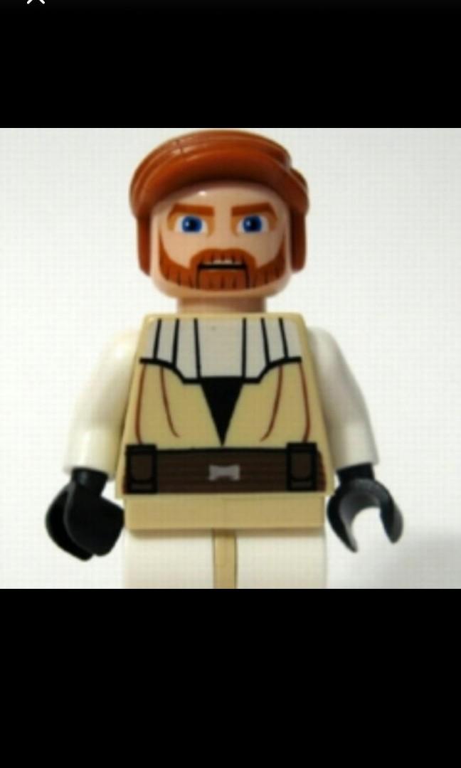 Lego Star Wars Obi Wan Icon : Kenobi, Clone, Wars,, Games,, Bricks, Figurines, Carousell