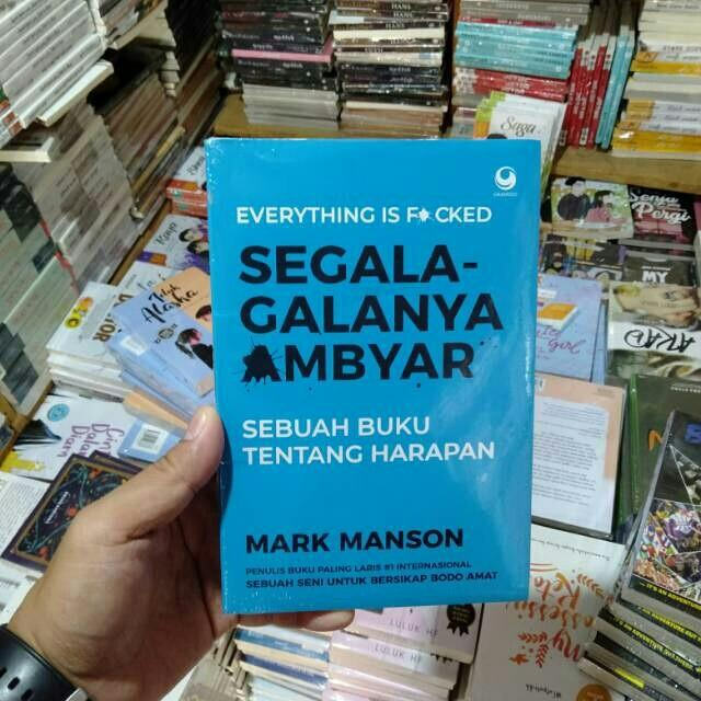 Novel Segala Galanya Ambyar Books Stationery Books On Carousell