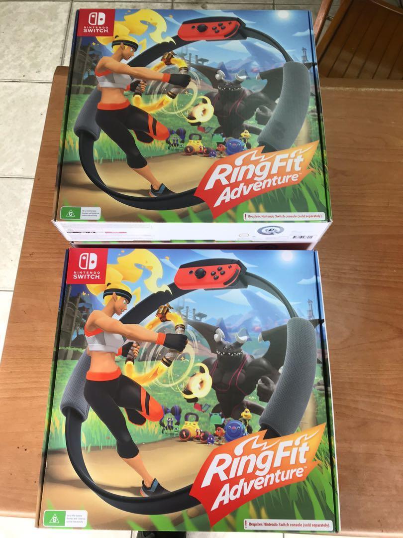 健身環大冒險 澳洲代購 現貨兩盒, 電玩, 電玩遊戲在旋轉拍賣