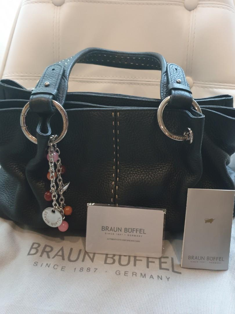 Authentic Braun Buffel Leather Bag. Women's Fashion. Bags & Wallets. Others on Carousell