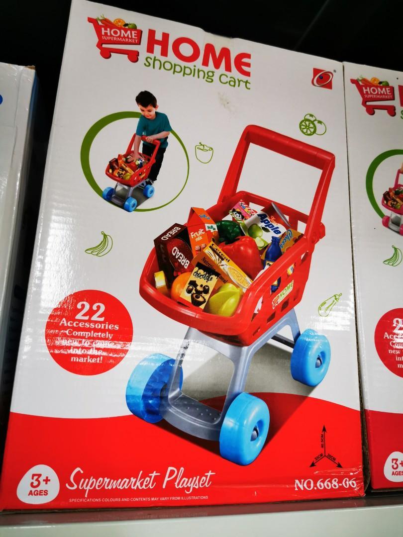 即日寄貨全新 bb學行購物車手推車連22件玩具,超級好玩顏色奪目 特價 $129 簡單安裝, 兒童&孕婦用品, 玩具 ...