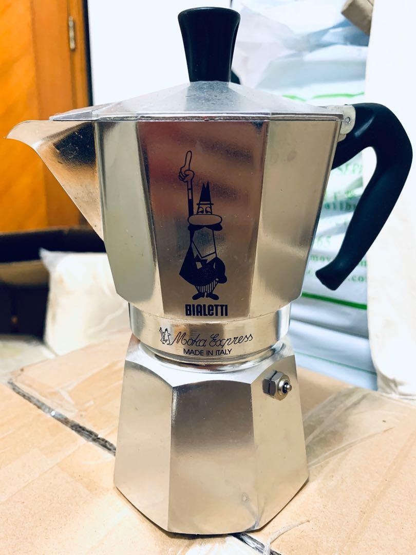 NEW Bialetti Moka Expresso Made in Italy . 廚房用具 - Carousell