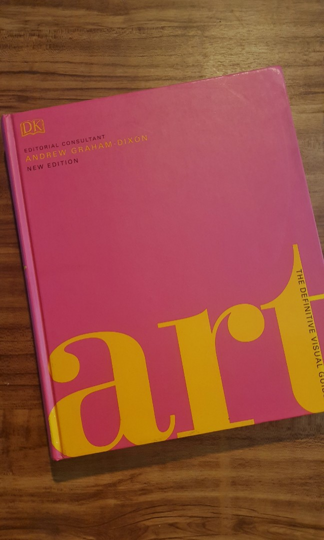 Art The Definitive Visual Guide : definitive, visual, guide, Definitive, Visual, Guide, COFFEE, TABLE, BOOK,, Hobbies, Toys,, Books, Magazines,, Assessment, Carousell