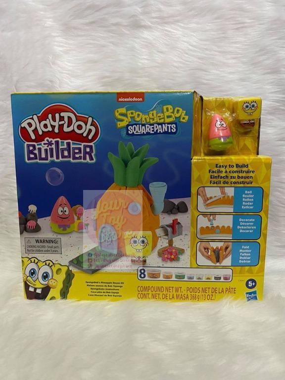 Spongebob Play-doh : spongebob, play-doh, Play-Doh, Builder, Spongebob, Squarepants,, Hobbies, Toys,, Games, Carousell