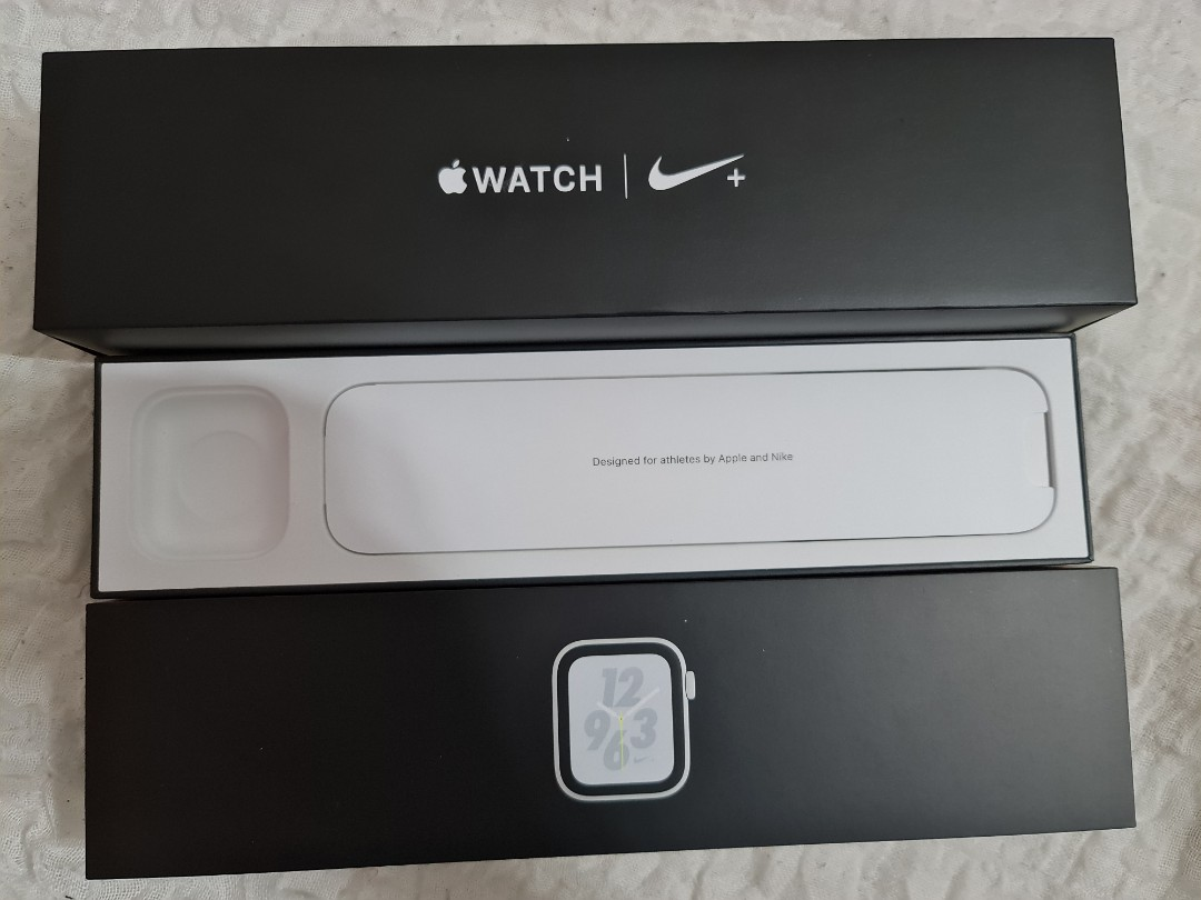 Shipped with usps first class. Box Only Apple Watch Series 4 Nike Edition 44mm Gps Electronics Others On Carousell