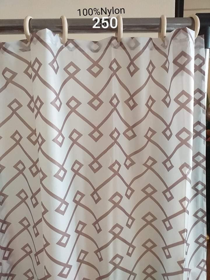 nylon shower curtain without hook
