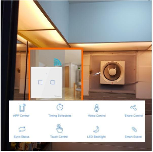 bto kdk exhuast exhaust fan ventilation fan bathroom toilet with smart switch delay scheduled timer with installation for smart home alexa google
