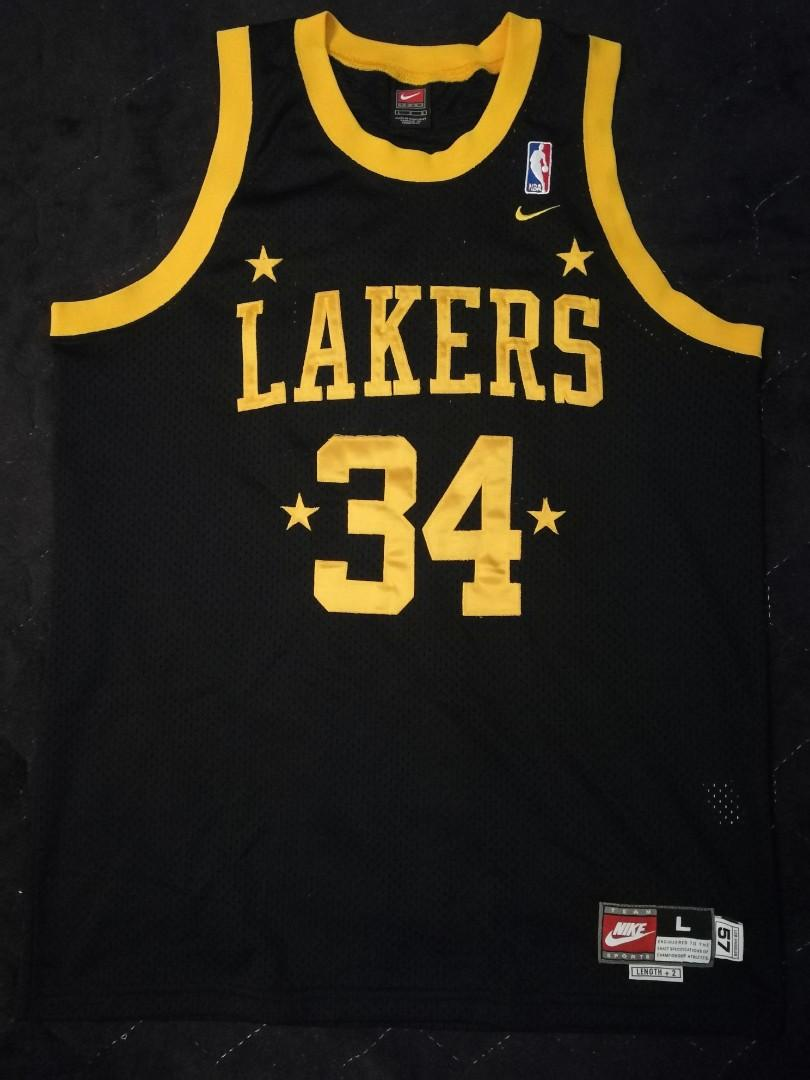 La Fabrique A Jersey : fabrique, jersey, Authentic, Rewind, Swingman, Jersey, Shaquille, O'Neal, Angeles, Lakers,, Men's, Fashion,, Activewear, Carousell