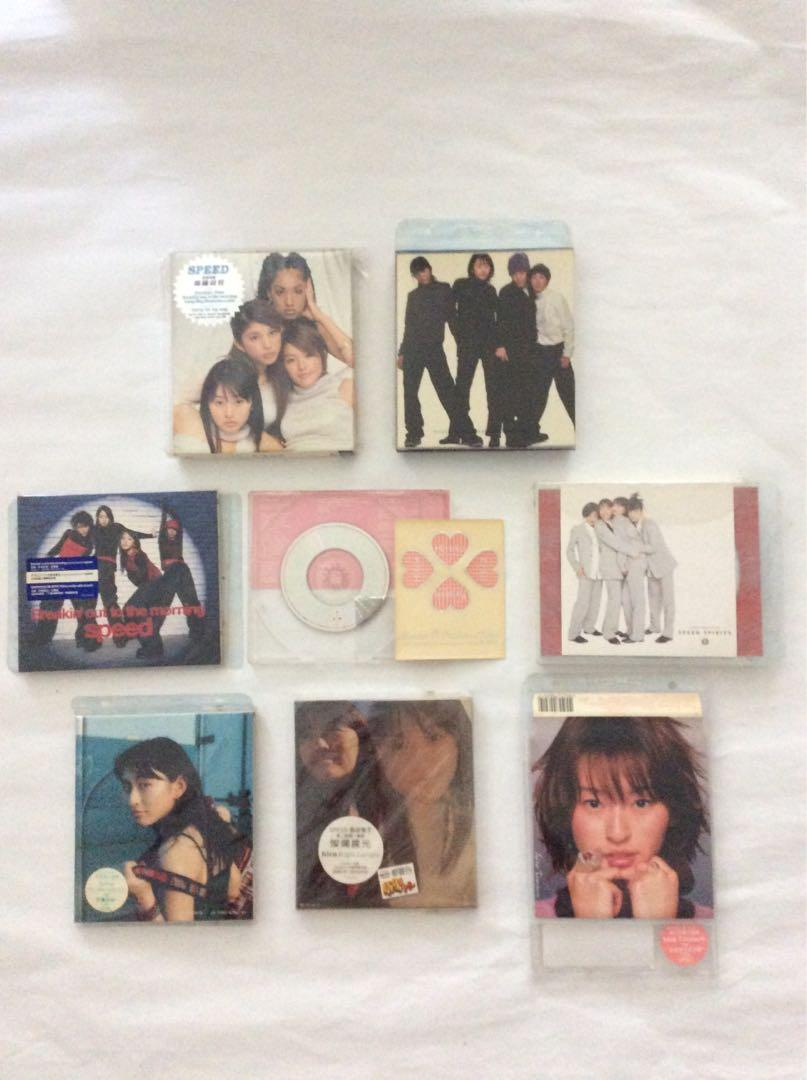 any 1pc of original japanese group speed or hiro 島袋寛子 compact disc cd and others range from sgd s 5 to sgd s 8
