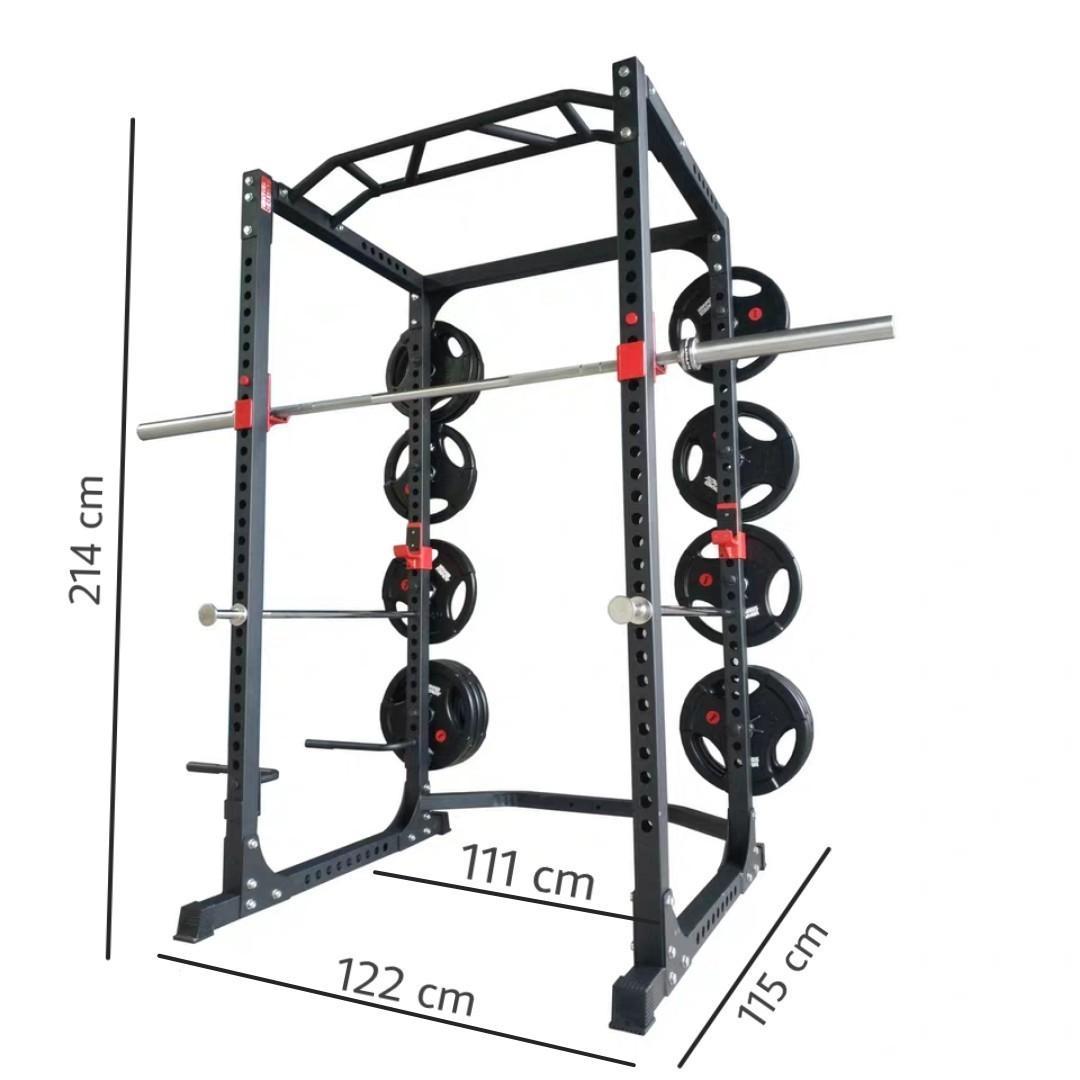 full power rack squat rack bench press dip bars pull up chin up