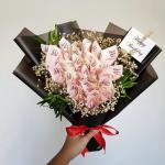 Money Bouquet Gardening Flowers Bouquets On Carousell