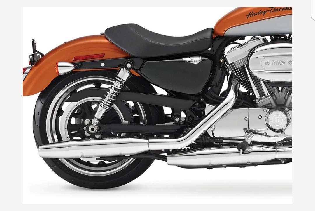 loud and bassy exhaust for harley sportster
