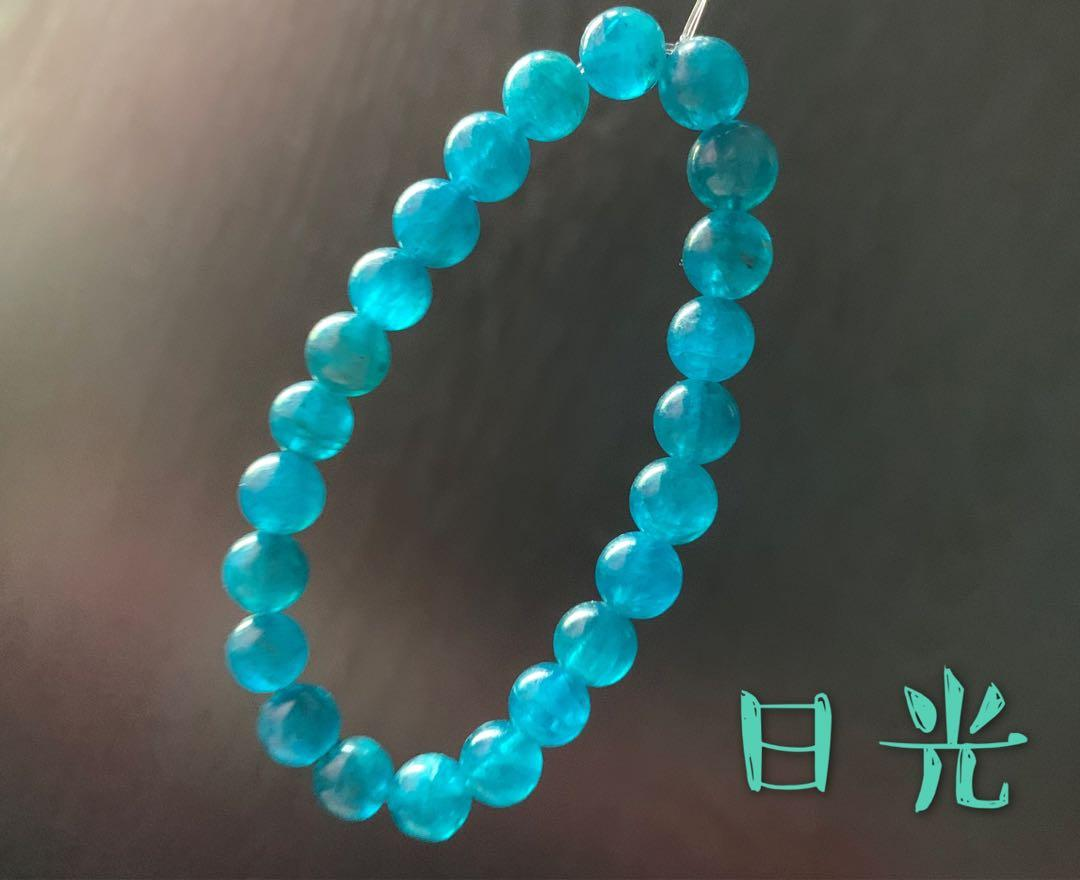 磷灰石 水晶 手鏈 天然水晶 有助減肥. 手作&自家設計. 手作產品 & 飾物 - Carousell