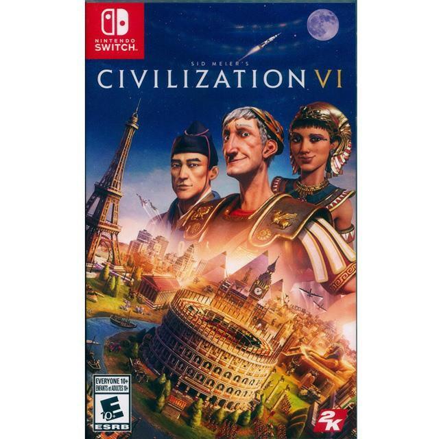 文明帝國6 switch game 遊戲, 遊戲機, 遊戲機遊戲 - Carousell