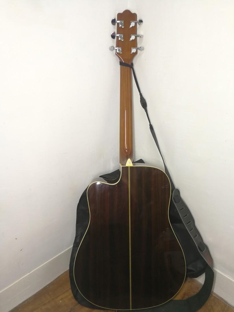日本 單板 電木 民搖 手工結他 41吋 有中柱 電木吉他 Toyama Guitar acoustic. 音樂樂器 & 配件. 音樂樂器 - Carousell