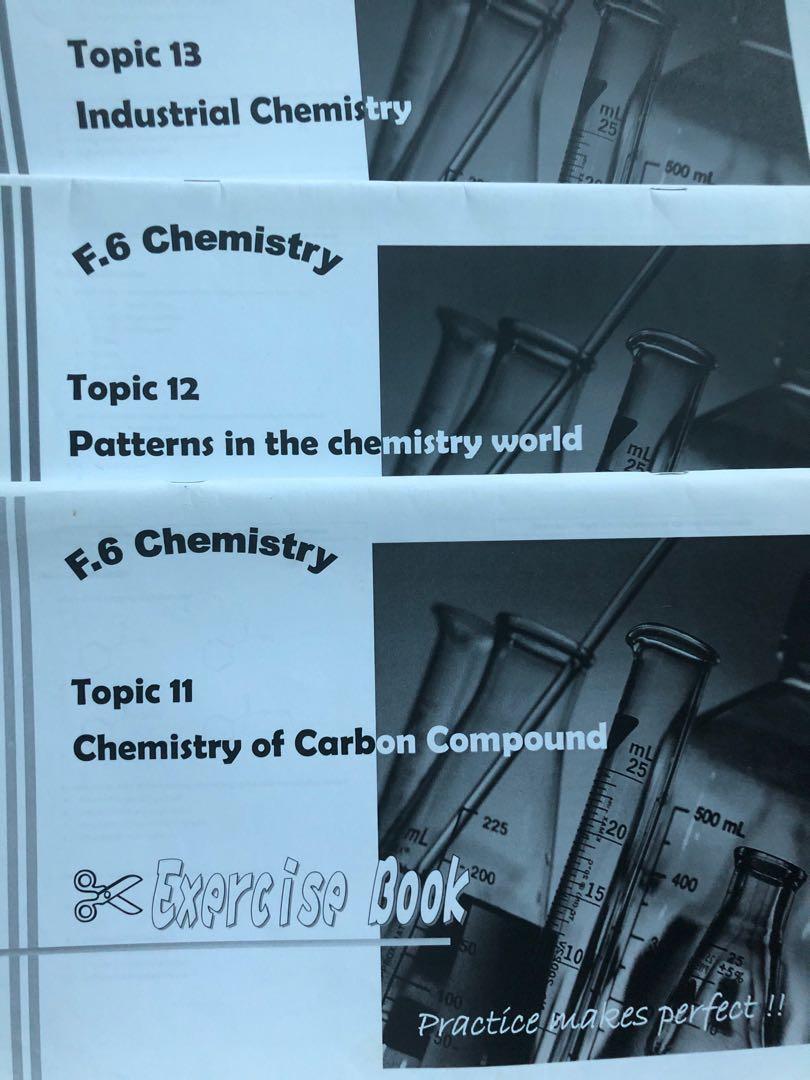 Element 化學補習名校notes筆記及補充練習exercise book, 化學課程, 教科書 - Carousell