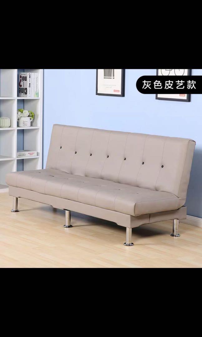原價$1300 Sofa 皮藝 梳化床 沙發 沙發床 單人 雙人 三人 辦公室梳化 家居梳化 sofa. 傢俬&家居. 傢俬 - Carousell