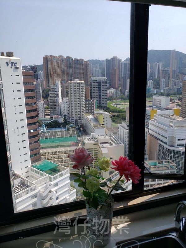 灣仔 華都樓 連234呎天臺 可望翠綠山景,自由的百科全書