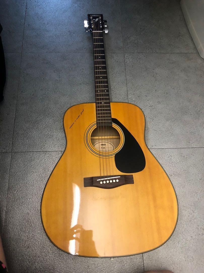 Guitar結他Yamaha F-340. 音樂樂器 & 配件. 音樂樂器 - Carousell
