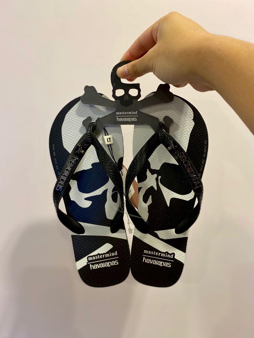 Mastermind Japan x Havaianas Flip Flops 拖鞋. 男裝. 男裝鞋 - Carousell