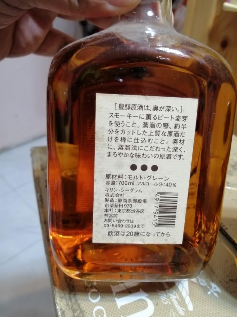 日本豐醇原酒威士忌700ml一支。, 嘢食 & 嘢飲, 酒精類飲品 - Carousell