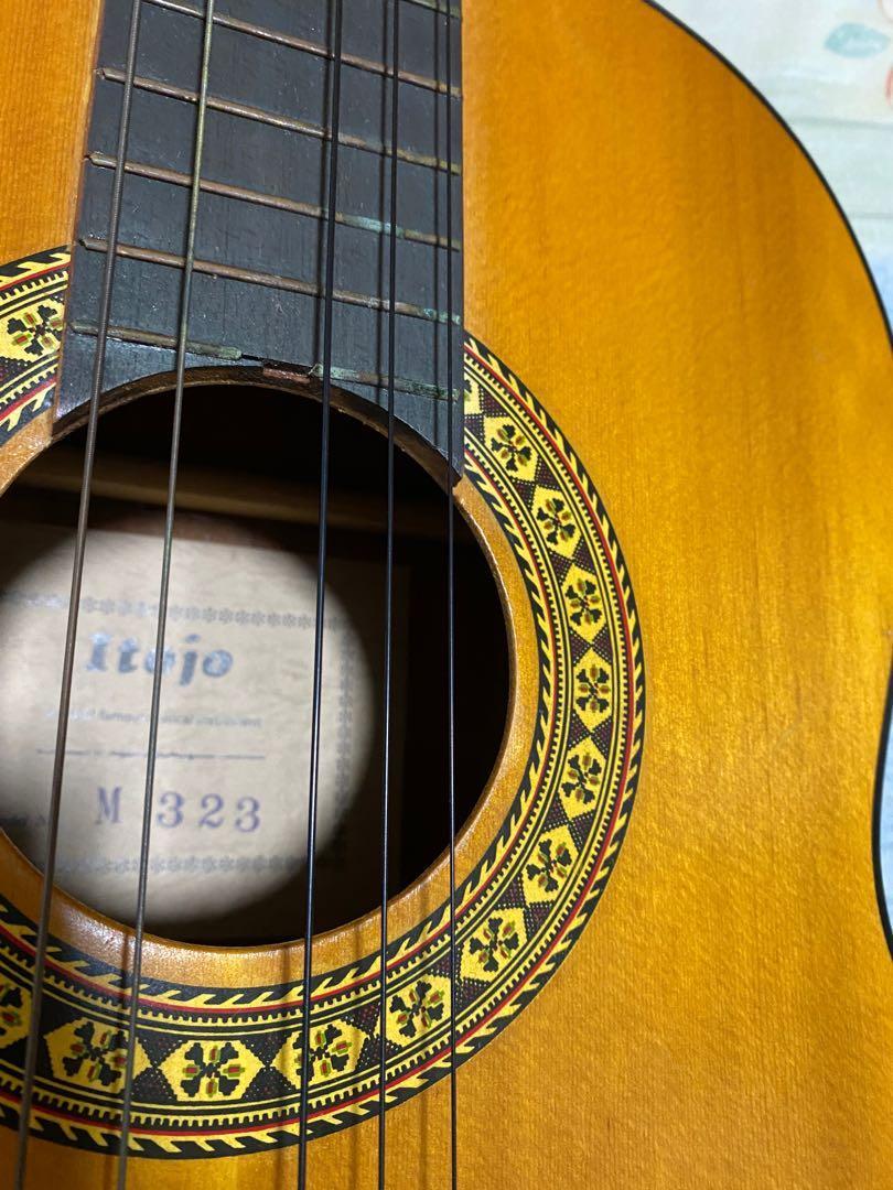 支桿 爆裂 了的 itojo guitar m323. 音樂樂器 & 配件. 音樂樂器 - Carousell