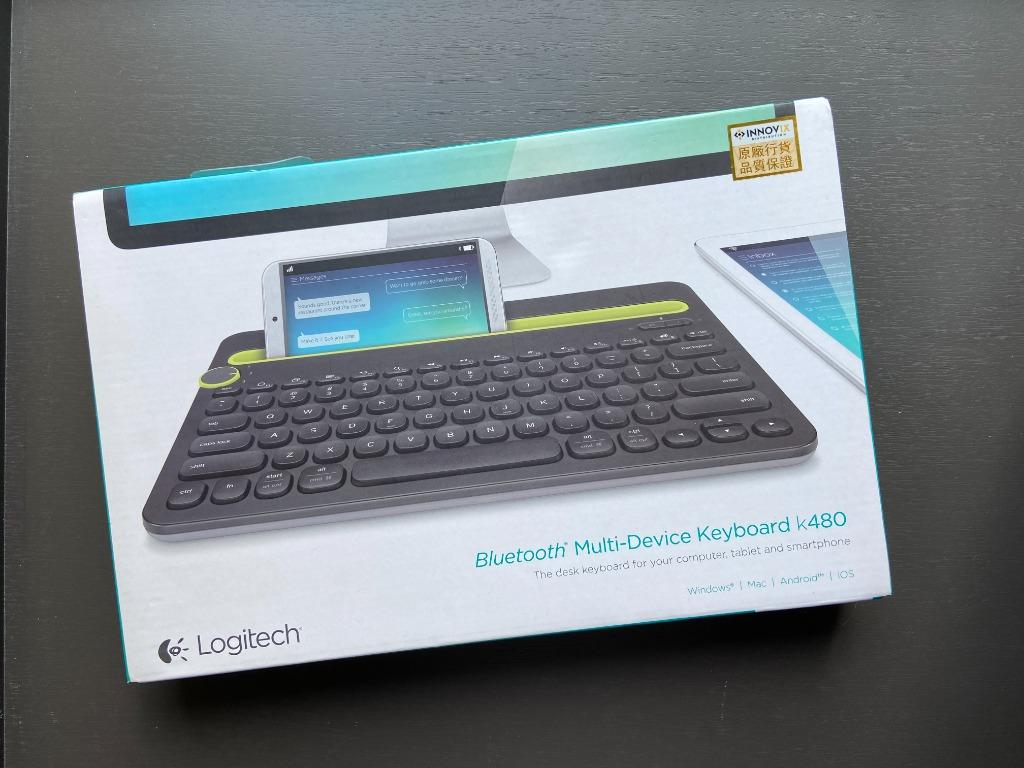 Logitech Bluetooth Keyboard 藍牙多功能鍵盤 K480, 電子產品, 其他 - Carousell