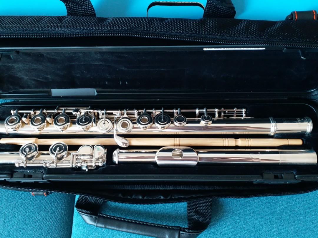 Yamaha Flute 372長笛. 音樂樂器 & 配件. 音樂樂器 - Carousell
