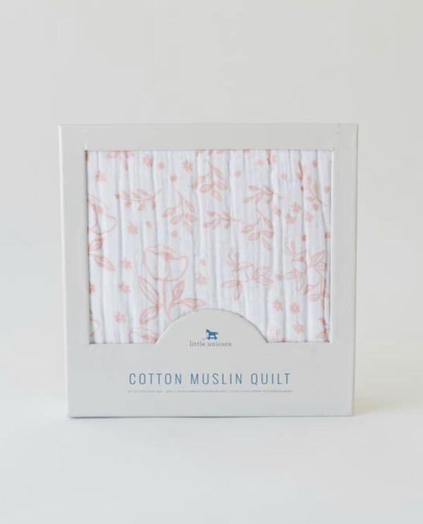 BB被仔 · 美國人氣嬰兒品牌~~Cotton Muslin Baby Quilt ~ *Follow 我帳號*可以
