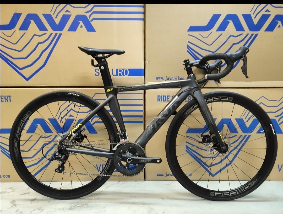 2020 Java SIluro 3 碟煞公路車, 運動產品, 單車 - Carousell