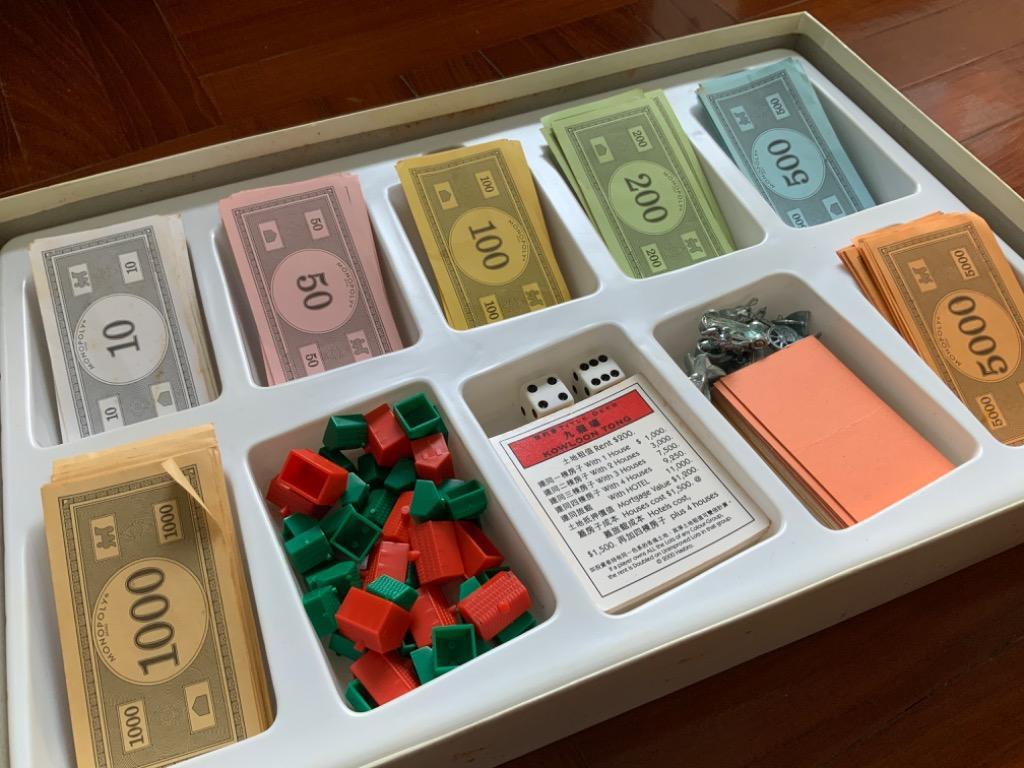 舊版 香港版大富翁 Monopoly Hong Kong edition (discontinued), 玩具 & 遊戲類, Board Games & Cards - Carousell
