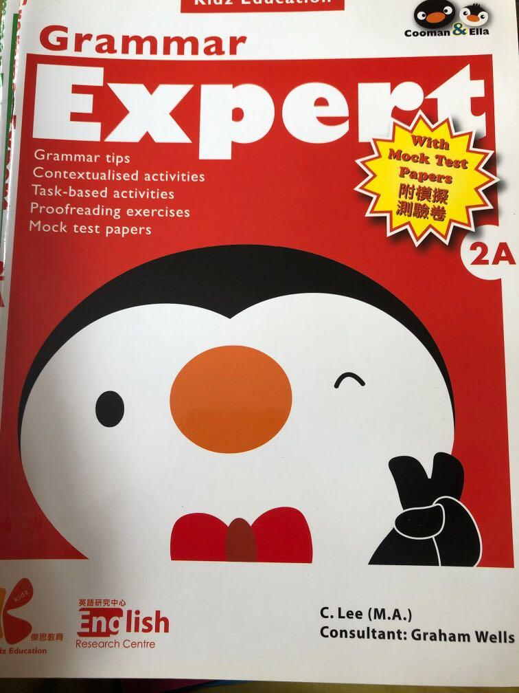 Grammar Expert 2A 小學生英文練習附模擬試卷, 教科書 - Carousell