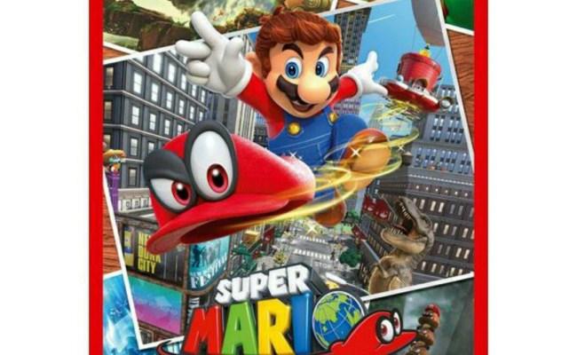 Nintendo Switch Game Super Mario Odyssey Game Video