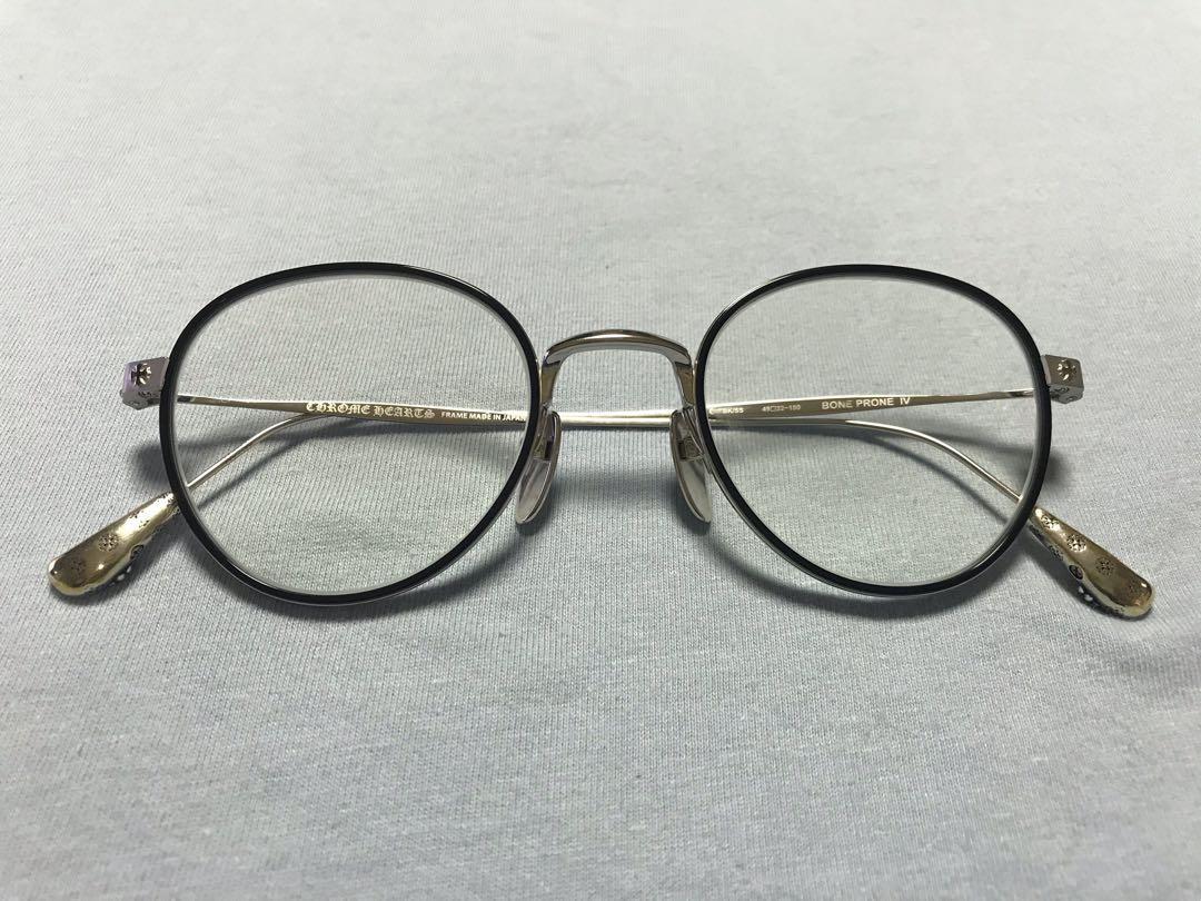 全新 Chrome Hearts Glasses 眼鏡 (漸變鏡/防藍光),設立專業維修部門專研平板及手機等拆解及電路修復,買家評價評論讓你安心無虞不踩雷,報價,並且提醒您, 男裝配飾 - Carousell