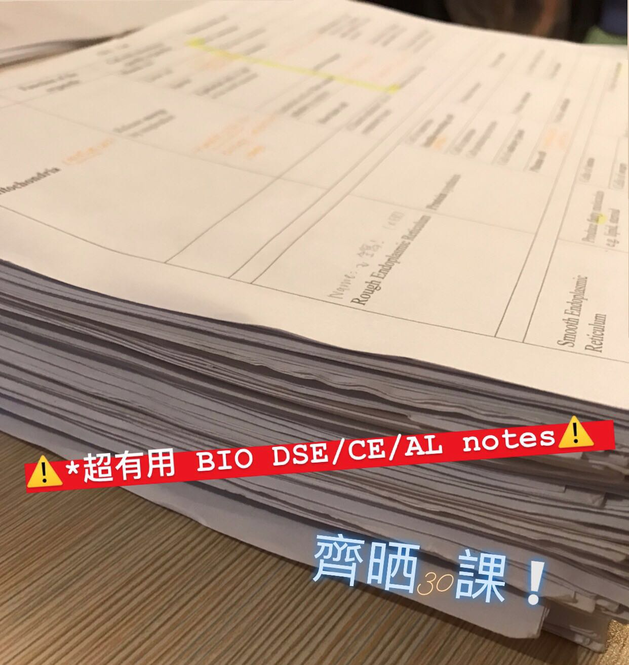 DSE BIO (dse/ce/Al) 齊全notes, 教科書 - Carousell